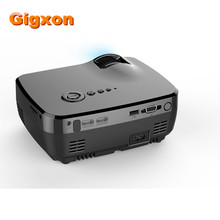 Gigxon-G700 Reciente Lanzamiento 1200 Lúmenes 1080 P Full HD Mini Portátil LED Proyectores de Cine En Casa