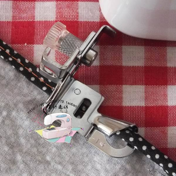 Leap butterflies big brother household sewing machine presser foot curling 6mm two fold edging sewing machine parts in Sewing Tools Accessory from Home Garden