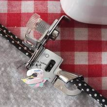 Leap , butterflies, big brother household sewing machine presser foot curling 6mm, two fold edging parts