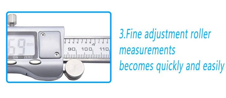 Precisa Paquímetro Micrômetro Ferramenta de Medição