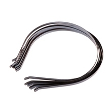 Мм 10 шт. 5 мм пустой простой металлический ободок для волос для DIY аксессуары для волос ремесла