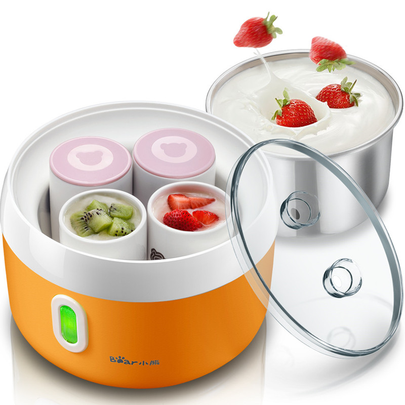 Bear SNJ-5341 Yogurt Machine Home Fully Automatic Genuine Ceramics Sub-cup Self Made Yogurt Maker