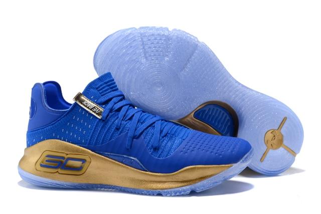 ... Under Armour UA Pria Curry 4 Ringan Olahraga Basket Sneakers Outdoor  Rendah Atas Unik Kaus Kaki ... 7752afc61c