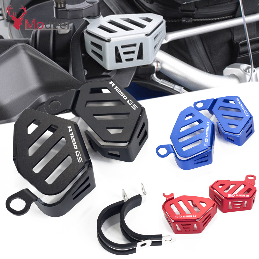 For BMW R1250GS ADVENTURE R1250 R 1250GS 1250 GS 2019 Motorcycle Accessories Front Brake Fluid Reservoir Guard Cover Protection