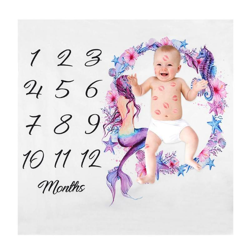 Newborn Baby Blanket Baby Photography Props Infant Background Blanket Swaddle Bathing Towel Stroller Bedding Wraps Photo Prop