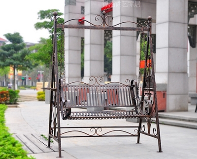 Outstanding European Country Indoor And Outdoor Leisure Double Iron Gmtry Best Dining Table And Chair Ideas Images Gmtryco