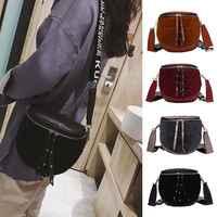Nowa damska modna torebka na ramię torba materiałowa PU skórzana damska torba kurierska hobo