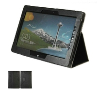 New 2 Folder Luxury Magnetic Folio Stand Leather Case Protective Cover For Asus VivoTab Smart ME400C
