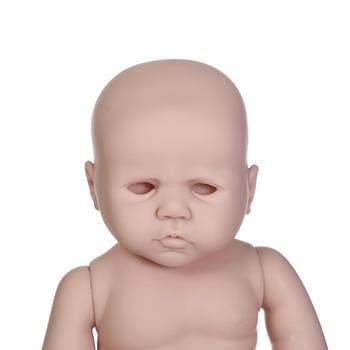 NPKCOLLECTION popular reborn doll kit soft silicone vinyl full body gentle touch anatomically correct Birdy LDC kit