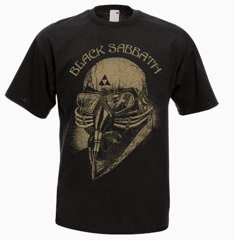 Black sabbath avengers iron men 39 s t shirt 100 cotton for High quality custom shirts