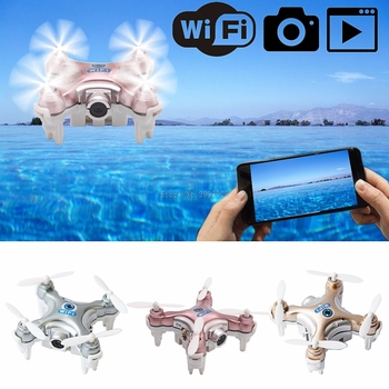 CX-10W Mini FPV Quadcopter 2 4G 4CH 6 Axis 0 3MP Camera RC Drone -B116