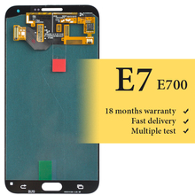 brand new For E7 lcd screen 5.5 inch working good For mobile phone E700 lcd display replacement assembly no dead pixel 100% good working new replacement lcd display screen for lg optimus g pro e980 e985 f240 free shipping