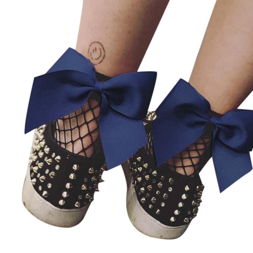 Big Ruffle Navy Ankle Socks Women Fishnet Short Socks 2017 Fashion Punk Girls Lace Fish Net Socks Chausettes Femme#121