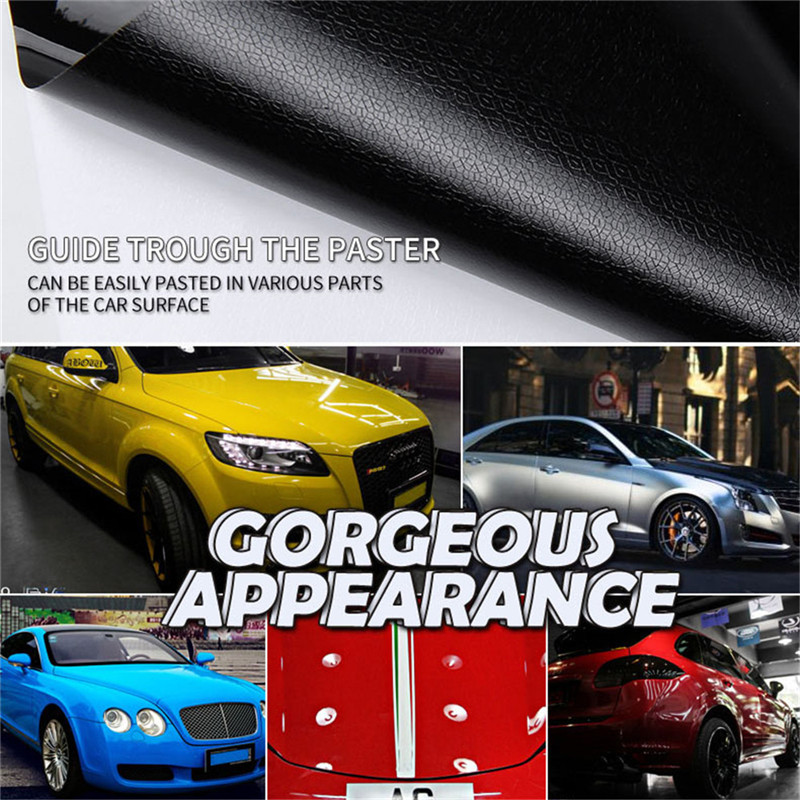 30*152cm Premium Car Body Sticker Decal Self Matte body sticker with Matt protective film for automobile body-in Car Stickers from Automobiles & Motorcycles