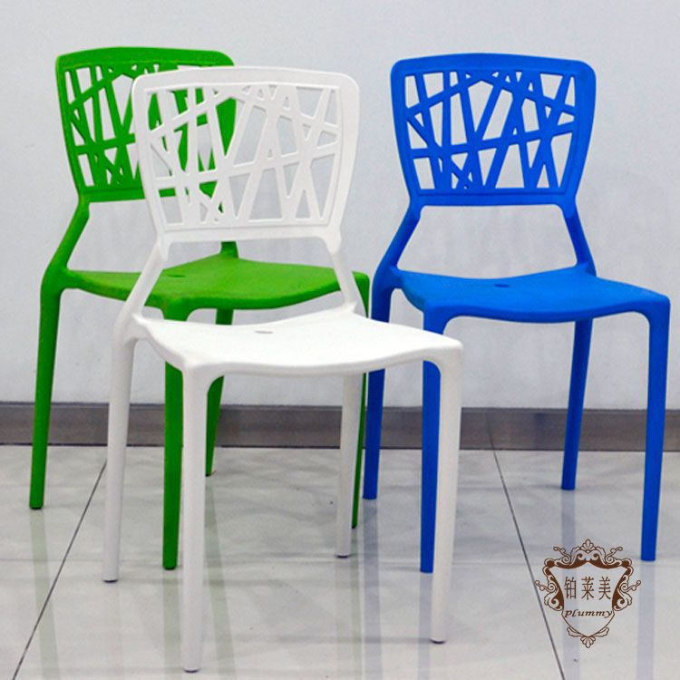 Platinum Laimei Designer Plastic Chairs Nest Nordic Minimalist Creative  Casual Cafe Chairs Stacked Outdoor Furniture Chairs In Shampoo Chairs From  Furniture ...