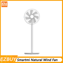 все цены на New 2019 Xiaomi Mi Smartmi Natural Wind Pedestal Fan 2 2S with MIJIA APP Control DC Frequency Fan 20W2800mAh 100 Stepless Speed онлайн