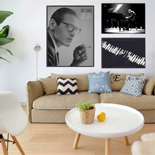 Bill Evans Music Vintage Posters and Prints Wall art Decorative Picture Canvas Painting For Living Room Home Decor Unframed the bill evans trio bill evans trio waltz for debby