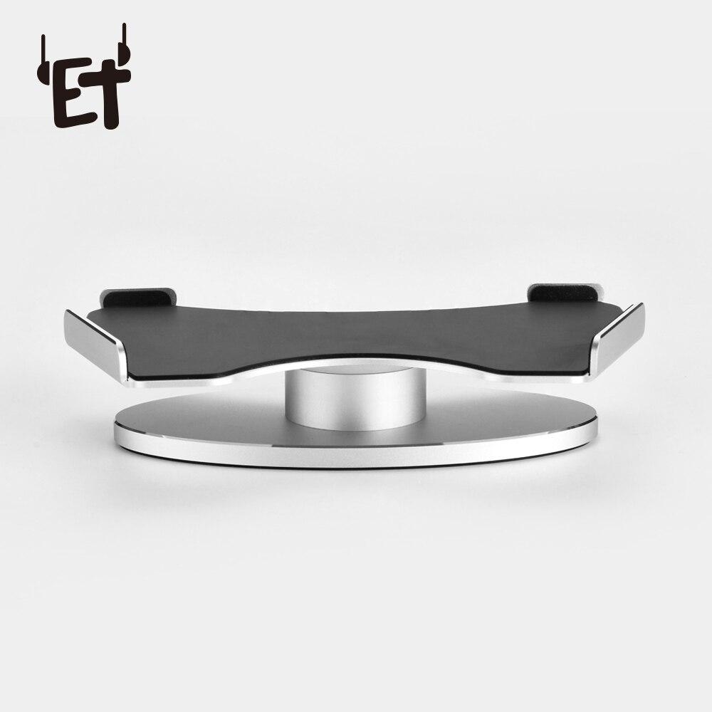ET Altoparlante In Lega di Alluminio Staffa di Supporto 360 Gradi di Rotazione Del Supporto Protezione Casa Stazione Speaker Stand per Amazon Echo Mostra