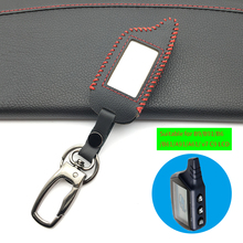 For Starline B9 B9 / B91 / B6 / B61 / A91 / A61 / V7 C9 LCD Shape Of 2018 Super Quality Remote Car Alarm Leather Key Case Cover цена