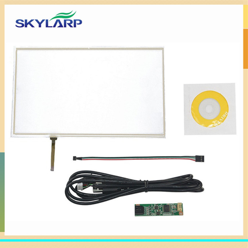 skylarpu New 10.1 inch 235*143mm 4 Wire Resistive Touch Panel USB Controller For N101N6-L01 Screen touch panel Glass amt 146 115 4 wire resistive touch screen ito 6 4 touch 4 line board touch glass amt9525 wide temperature touch screen