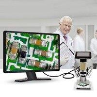HDMI цифровой микроскоп HD 3MP 1080 P электронный микроскоп Лупа с 3,0 экран дисплея ремонт инструмент для печатной платы