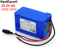VariCore 24V 6Ah 6S3P 18650 Battery 6000mAh Electric Bicycle Moped /Electric/Li ion Battery Pack with 25.2 v BMS Protection
