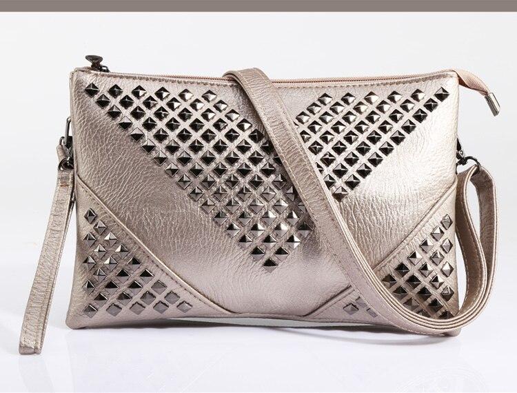 HTB1ZVmkJVXXXXbyXpXXq6xXFXXXZ - Hot Fashion Black Rivet V Glitter Shine Women Leather Handbags-Hot Fashion Black Rivet V Glitter Shine Women Leather Handbags