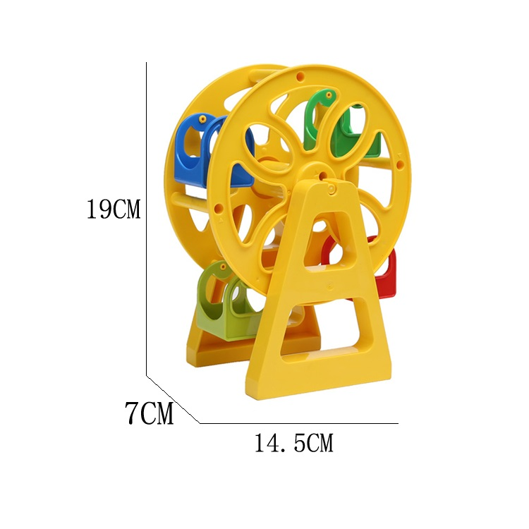 Runner Ferris wheel Model Amusement Park Set Bricks Big Particles Building Blocks accessory Kids Toys Compatible with Duplo DIY 2016 spiderman children clothing kids summer little baby cotton clothing sets t shirts and shorts casual fashional dress 0440
