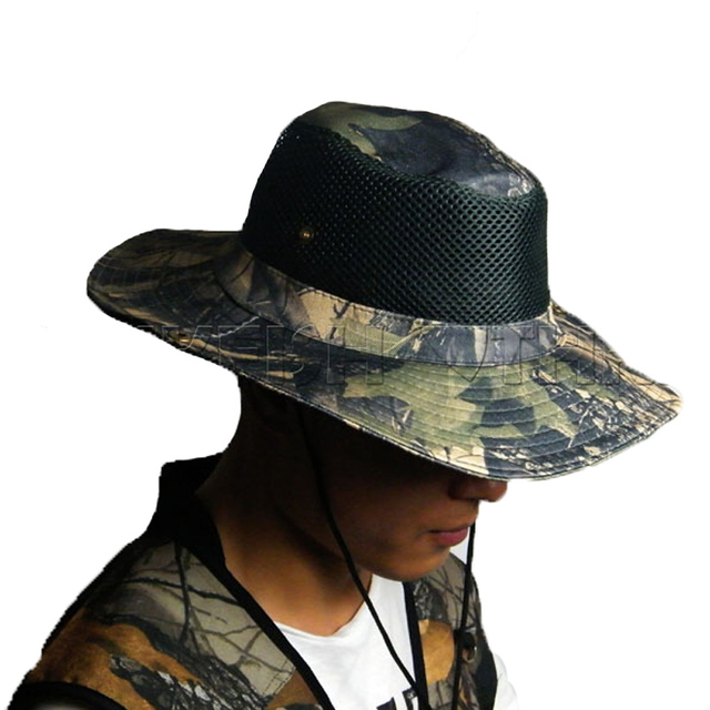 THKFISH Fishing Hat Cap Camouflage Caps Hats Summer Sun Protection Hat  Outdoor Fishing Hats 6c7fd9a8e84