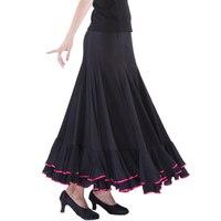 Modern dance skirt classic dress ballroom dancing skirt bust skirt s8004 expansion skirt