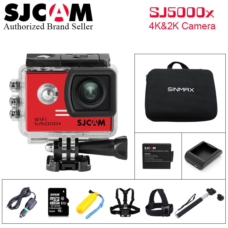 Original SJCAM SJ5000X Elite font b Action b font Camera 4K Sports DV WiFi Gyro Diving