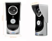 DANMINI wifi Doorbell Wireless 145 Degree Wide Viewing Video Intercom built-in 4pcs IR LED Night vision light Doorbell