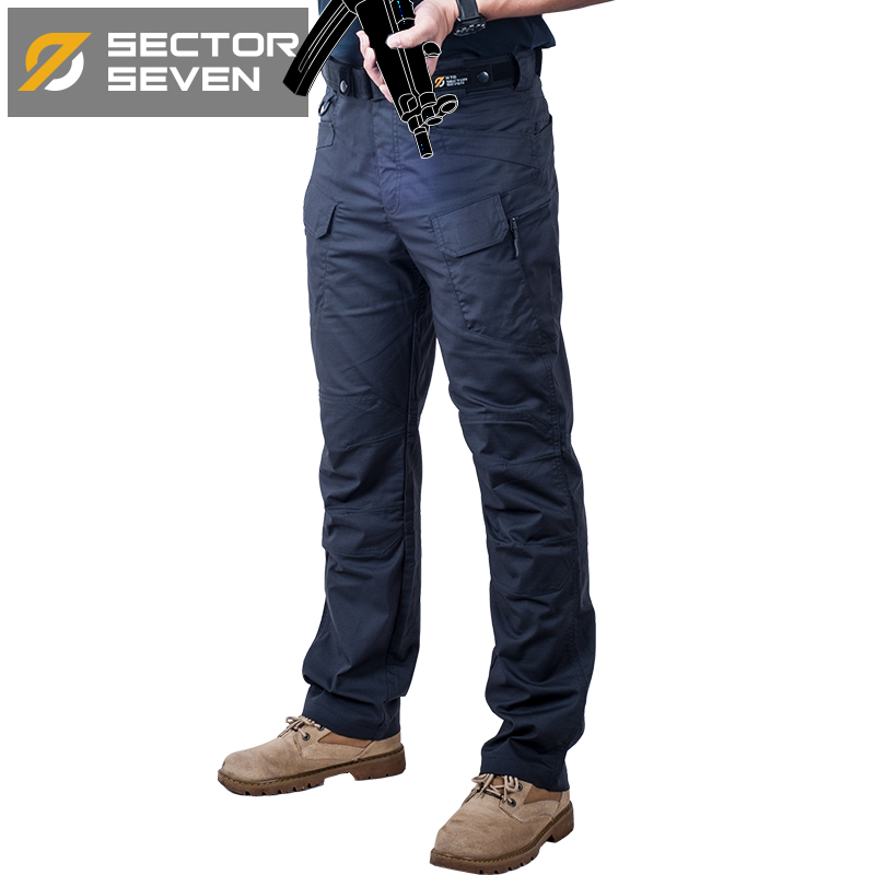 IX7C Waterproof War Game Cargo pants silm Casual tactical Pants men mens trousers Combat SWAT Army military Active Pants