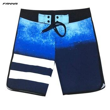 Men's Board Shorts Surf Swimwear Beach High Elastic Swimming Trunks Beach Shorts Beachwear Sports Shorts Male Swimsuit Trunks 4