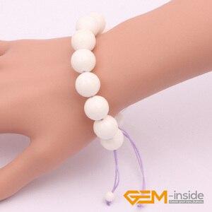 "14mm Sea Shell Bracelet Natural Shell Bracelet DIY Bracelet Hand-woven rope Ajustable:7""--8.5"" For Party For Gift Free Shipping"