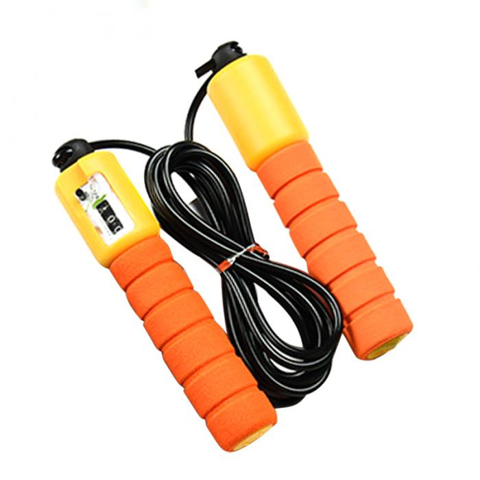 Jump Ropes with Counter, Adjustable,  Counting Jump Skip Rope Skipping Wire 22