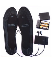 Safe Battery Heating Electronic Mules Clogs Shoes For Size 38 46 EVA Material Warming Black Electric