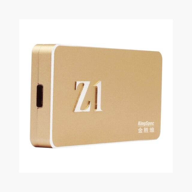 KingSpec Z1 750 ~ 850/420 ~ 460 МБ/с. Внешний Портативный SSD USB3.1 128 ГБ 256 ГБ 512 ГБ 1 ТБ Твердотельный Жесткий Диск-стороны вставки