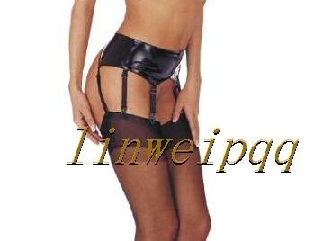 Sexy ropa interior de las ligas liguero ligueros liguero negro Club de desgaste A4035 talla