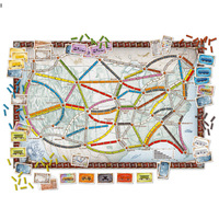 Days of Wonder Ticket to Ride Board game Party Table Games card games adults gift Kids Toy