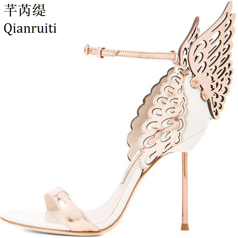 175b38c7b517 Buy pink heels with wings and get free shipping on AliExpress.com