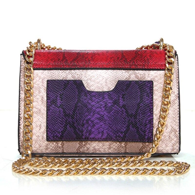 Для женщин Сумки на плечо Дамская Мода Дикий Crossbody мешок мобильного телефона Высокое качество PU зеленый цвет Цепи клапаном сумка