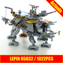 1022pcs Star 2017 LEPIN 05032 Wars Rex s AT Captain TE Building Blocks Brick Toy with