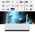 Android Europa Árabe IPTV Box Full HD 1080 P Quad Core RAM 1G Smart Set Top Box DLNA 4 K 3D Construir En Wifi IPTV STB