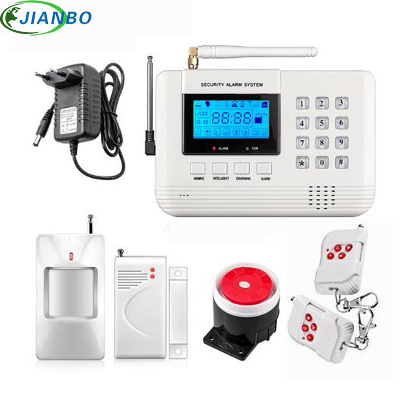 Hot Sale Spanish/Russian Voice Wireless PSTN GSM Home Security Alarm System Auto Dialer Smart Home Office Security Burglar Alarm new kerui wireless portable remote control for gsm pstn home alarm system kr8218g home security voice burglar smart alarm system