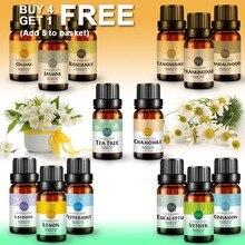 Essential Oils 100% Pure Natural 10ml Glass Bottle For Diffuser Burner Diffusor