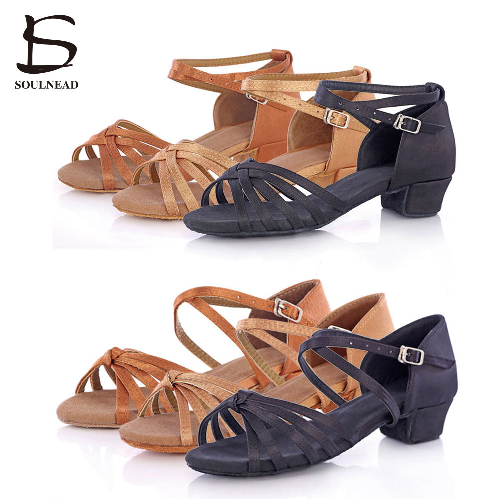 b4b2b664bd Sapatos de Dança sandália Children's Shoes Heel : 3.5cm, low Heel is  Comfortable For