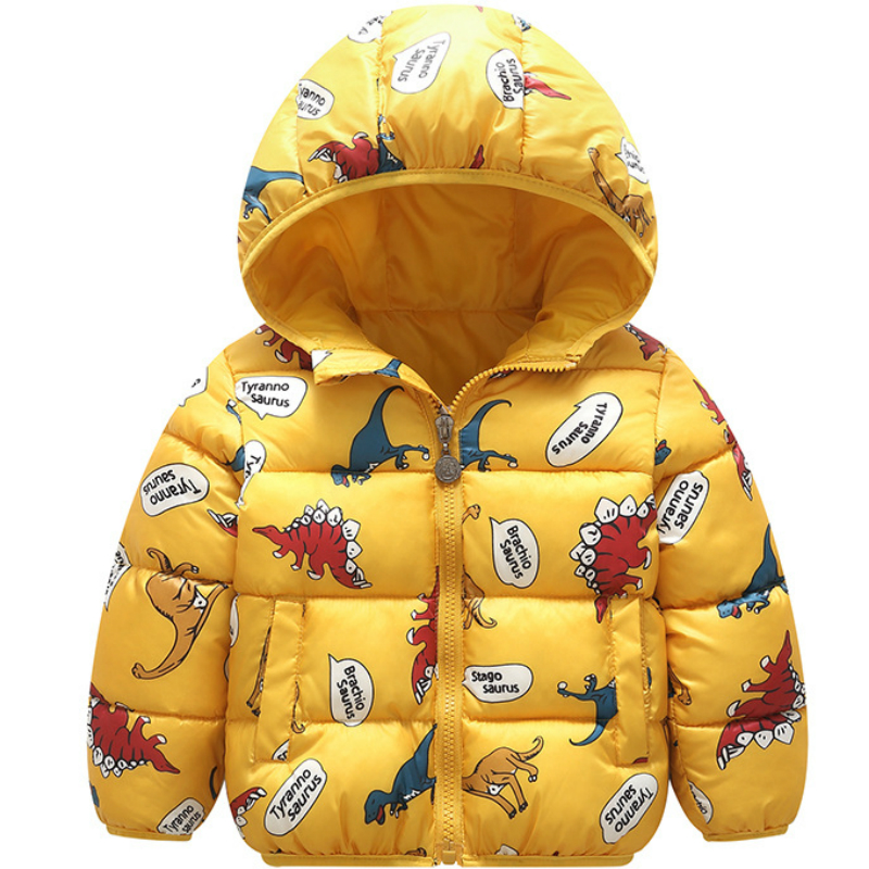 Children's Jacket New 2019 Newborn Hooded Plus Velvet Velvet Multicolor Cotton Coat Children Boys and Girls Thick Cotton Coat(China)