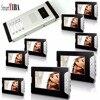 SmartYIBA Home Video Door Entry System for Multi Apartment Intercom Video Door Phone Doorbell Intercom Night Vision 8 Monitor