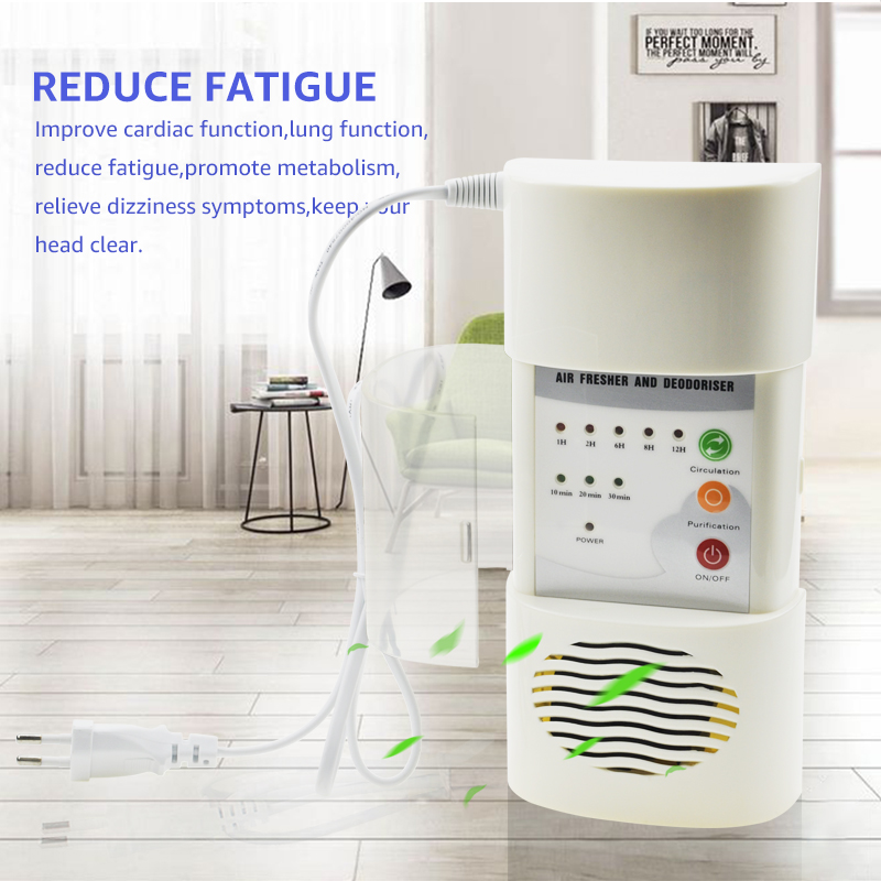 Image 4 - ANIMORE Air Ozonizer Air Purifier Home Deodorizer Ozone Ionizer Generator Sterilization Germicidal Filter Disinfection CleanRoom-in Air Purifiers from Home Appliances